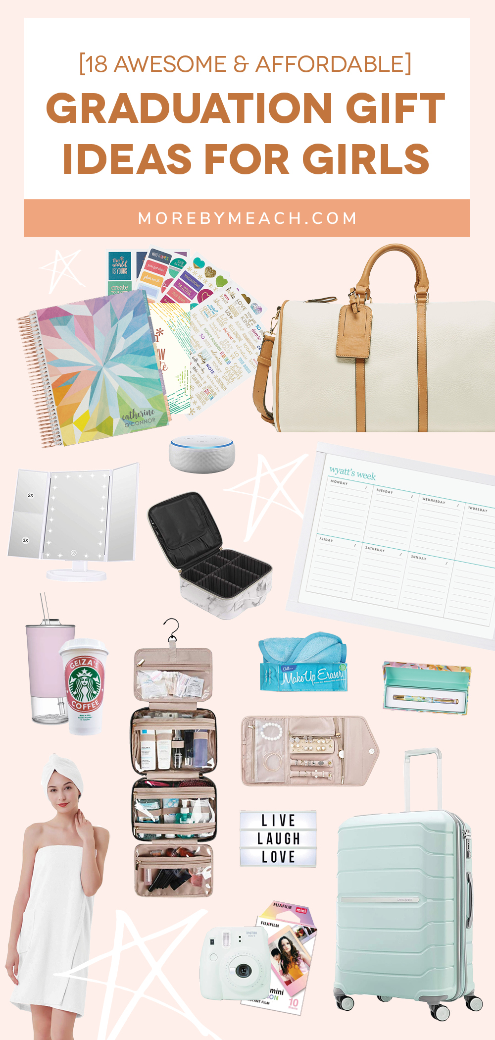 18 Cute And Affordable Graduation Gift Ideas For Girls More By Meach