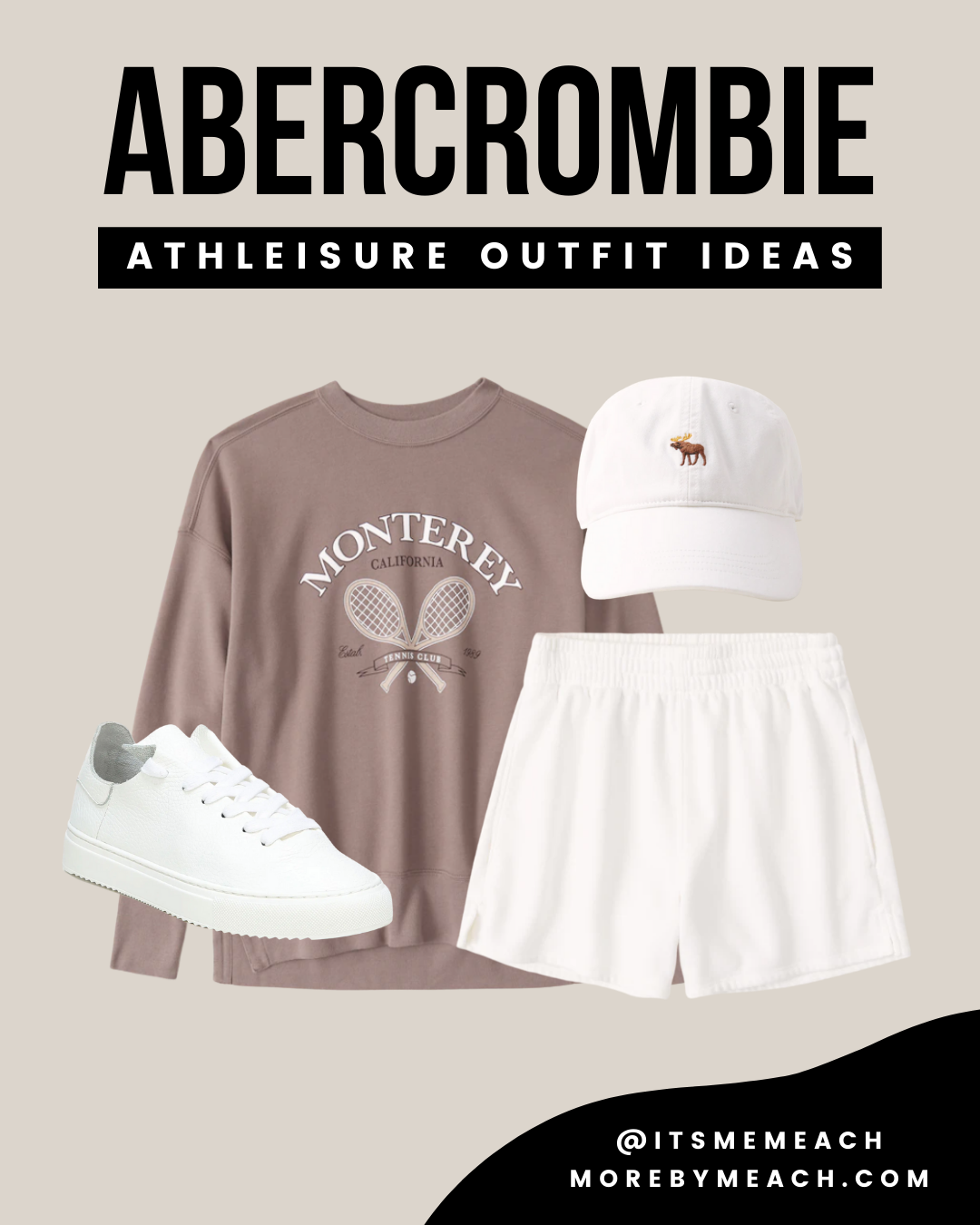 Fall Athleisure Outfits 2021 from Abercrombie and Fitch